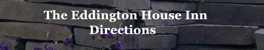 Directions - Eddington House Inn, North Bennington Vermont Bed & Breakfast